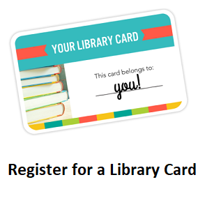 Register for a library card